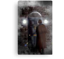 Haunted house Baker street 221b Metal Print