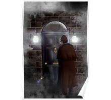 Haunted house Baker street 221b Poster