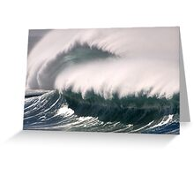 Big Surf Barrels x2 Greeting Card