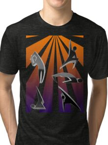 The Art form of Yoga # 1 Tri-blend T-Shirt
