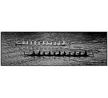 Boat Competition Photographic Print