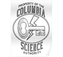 BioShock Infinite – Property of the Columbia Science Authority Poster