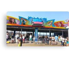 Bumper Cars Italian Jersey Shore + Celebs Canvas Print