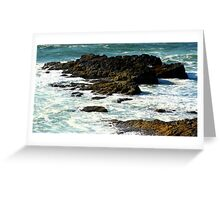 Pebbles of a Continent Greeting Card