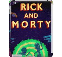 Rick and morty...Run Morty Run  iPad Case/Skin