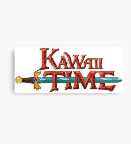 Kawaii Time Canvas Print