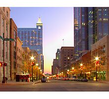 Downtown Raleigh Photographic Print