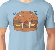 Cheeseburger Walrus Unisex T-Shirt