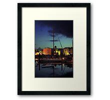 Harboursky Framed Print