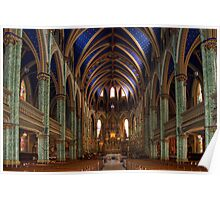 Notre Damme Cathedral, Ottawa Poster