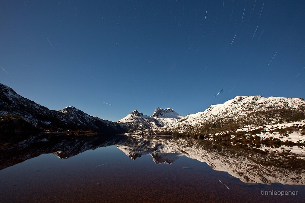 Cradle Mountain Star Trail by tinnieopener