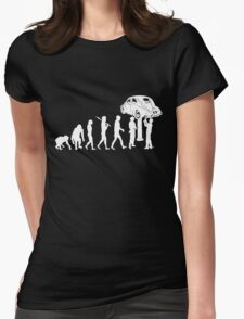 VW Evolution -- Beetle Womens Fitted T-Shirt