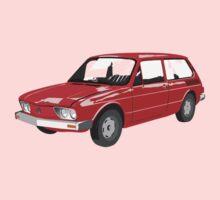 VW Brasilia Red Kids Clothes
