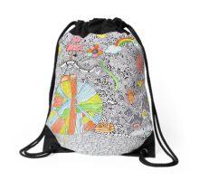Cat Land  Drawstring Bag