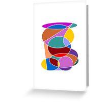 Abstract #24 Greeting Card