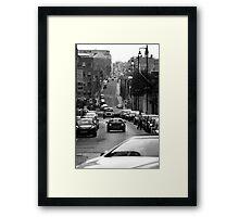 Birmingham Street View Framed Print