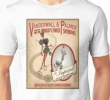 BioShock Infinite – Vanderwall & Palmer World's Finest Skyhooks Unisex T-Shirt