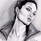 Angelina Jolie portrait by jos2507