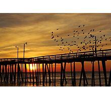 happy sunrise to you Photographic Print