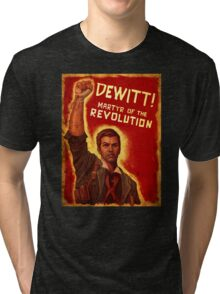 BioShock Infinite – DeWitt, Martyr of the Revolution Tri-blend T-Shirt