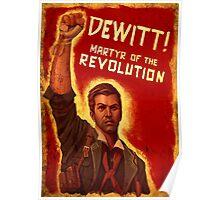 BioShock Infinite – DeWitt, Martyr of the Revolution Poster