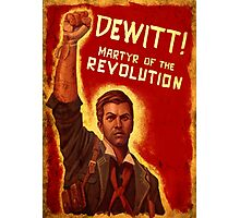 BioShock Infinite – DeWitt, Martyr of the Revolution Photographic Print