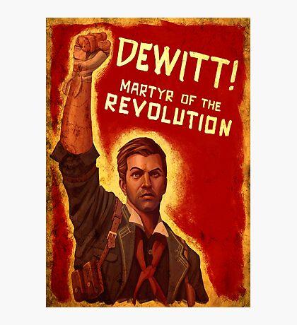 BioShock Infinite – DeWitt, Martyr of the Revolution Photographic Print