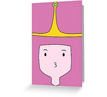 Princess Bubblegum Greeting Card