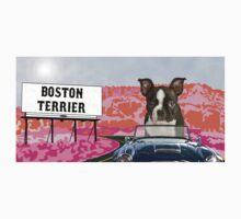 Boston Terrier Pop Art One Piece - Long Sleeve