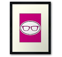 Glitter Geek Framed Print