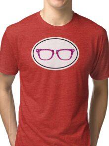 Glitter Geek Tri-blend T-Shirt