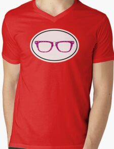 Glitter Geek Mens V-Neck T-Shirt