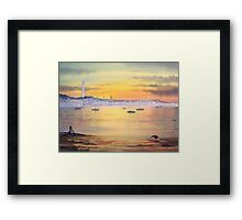 Impressions Of Provincetown MA Framed Print