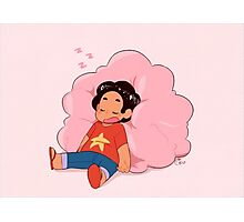 Steven Sleeping Photographic Print