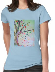 Love Grows!  Womens Fitted T-Shirt