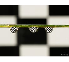 A game of chess...... Photographic Print