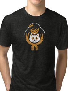 Cat Lady Tri-blend T-Shirt
