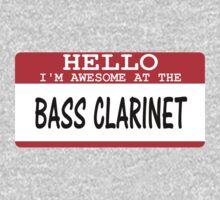 Bass Clarinet One Piece - Long Sleeve