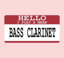 Bass Clarinet One Piece - Long Sleeve