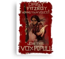 BioShock Infinite – Join the Vox Populi Canvas Print