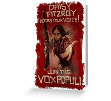 BioShock Infinite – Join the Vox Populi Greeting Card