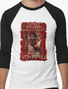 BioShock Infinite – Join the Vox Populi Men's Baseball ¾ T-Shirt