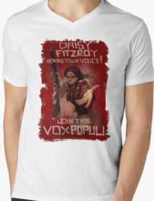 BioShock Infinite – Join the Vox Populi Mens V-Neck T-Shirt