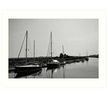 Southwold Harbour Art Print
