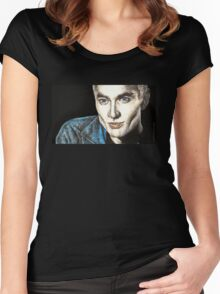 Spike - Smashed - BtVS S6E9 Women's Fitted Scoop T-Shirt