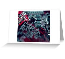Make a Circuit With Me Greeting Card