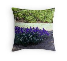 """""""Lupine Round-a-Bout"""" Throw Pillow"""