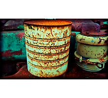tin can Photographic Print