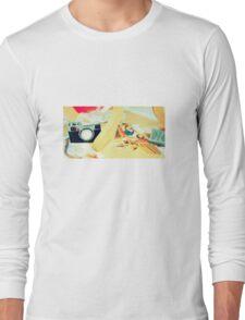 Felt Camera Long Sleeve T-Shirt