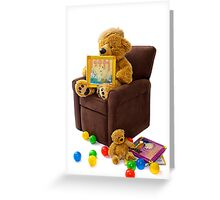 Beary Comfy Greeting Card